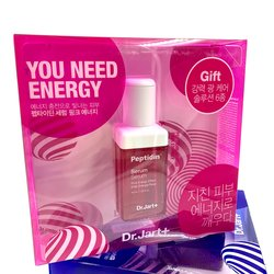 Набор средств для лица Dr. Jart+ Peptidin Serum Pink Energy Up Set (Фото 2)