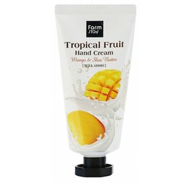 Крем для рук з манго та маслом ши Farm Stay Tropical Fruit Hand Cream Mango & Shea Butter