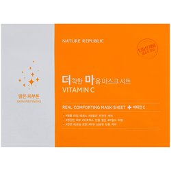 Тканевые маски Nature Republic Real Comforting Mask Sheet (Фото 4)