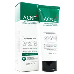 Пінка для проблемної шкіри SOME BY MI AHA BHA PHA 30 Days Miracle Acne Clear Foam (Фото 2)