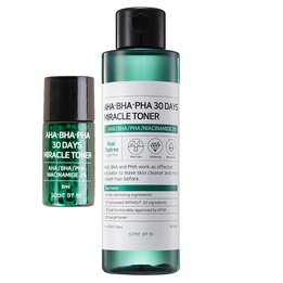 Кислотный тонер для лица SOME BY MI AHA BHA PHA 30 Days Miracle Toner