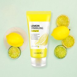 Лимонная пилинг-скатка Secret Key Lemon Sparkling Peeling Gel (Фото 2)