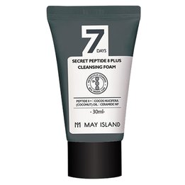 Очищаюча пінка з пептидами May Island 7 Days Secret Peptide 8 Plus Cleansing Foam