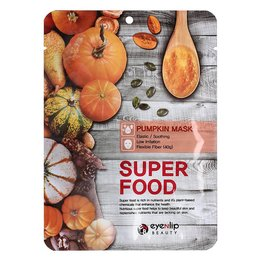 Тканинна маска з екстрактом гарбуза EYENLIP Super Food Pumpkin Mask