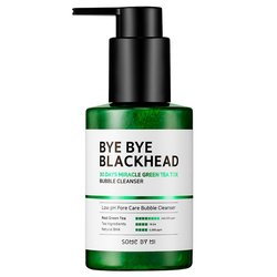 Киснева маска-пінка від чорних крапок SOME BY MI BYE BYE BLACKHEAD 30 Days Miracle Green Tea Tox Bubble Cleanser (Фото 1)