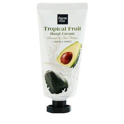 Крем для рук с авокадо и маслом ши Farm Stay Tropical Fruit Hand Cream Avocado & Shea Butter (Фото 1)