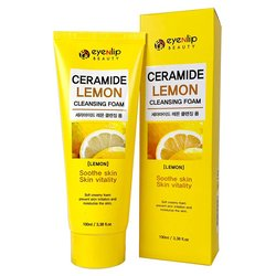Пенка для умывания с керамидами и лимоном EYENLIP Ceramide Lemon Cleansing Foam (Фото 2)