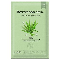 Тканевая маска с экстрактом алое Labute Revive The Skin Aloe Mask (Фото 1)