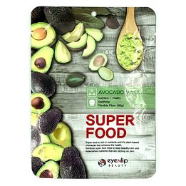Тканинна маска з екстрактом авокадо EYENLIP Super Food Avocado Mask